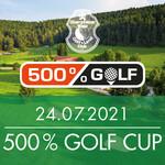 Anmeldung zum 500 % Golf Cup nur noch heute möglich!