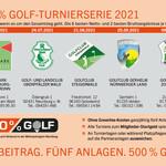 Vorletzter 500 % Golf Cup am Samstag auf der Golfanlage Gerhelm