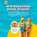 """Support your locals – Aktion von Lipton Icetea """"Schenke ein Lächeln"""""""