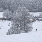 Aktuelle Situation auf unserer winterlichen Golfanlage